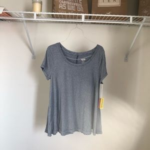 NWT Mossimo Supply Co. Flowy Striped Short Sleeve